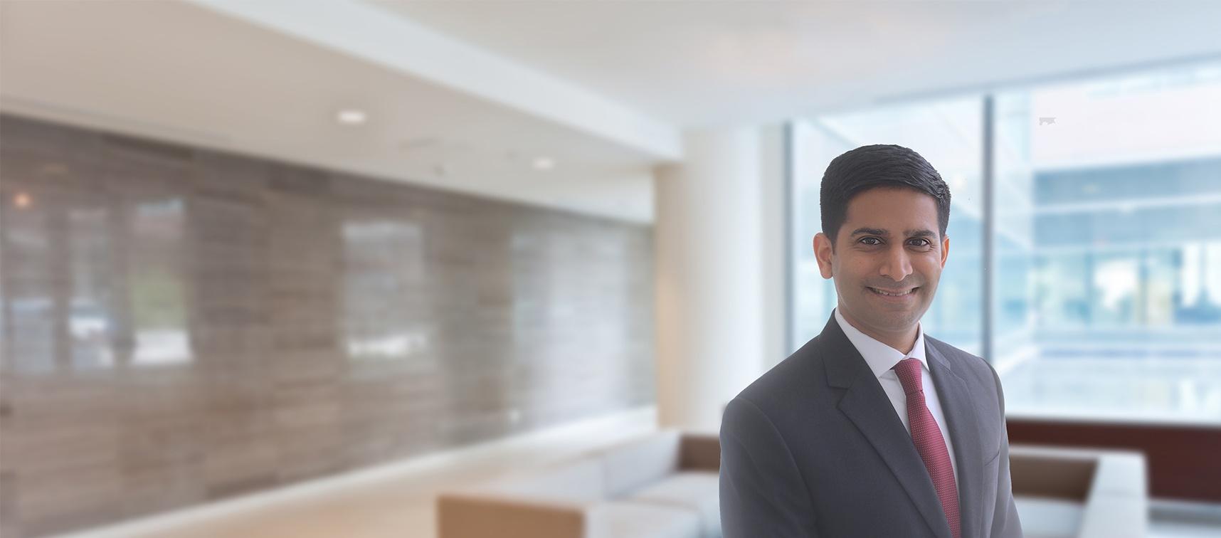 Viresh Patel, Potomac Law Group Photo